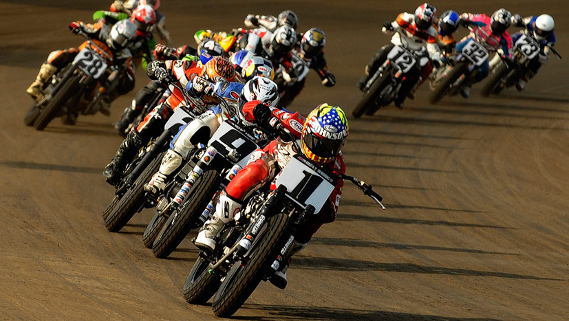 History of Flat Track Racing